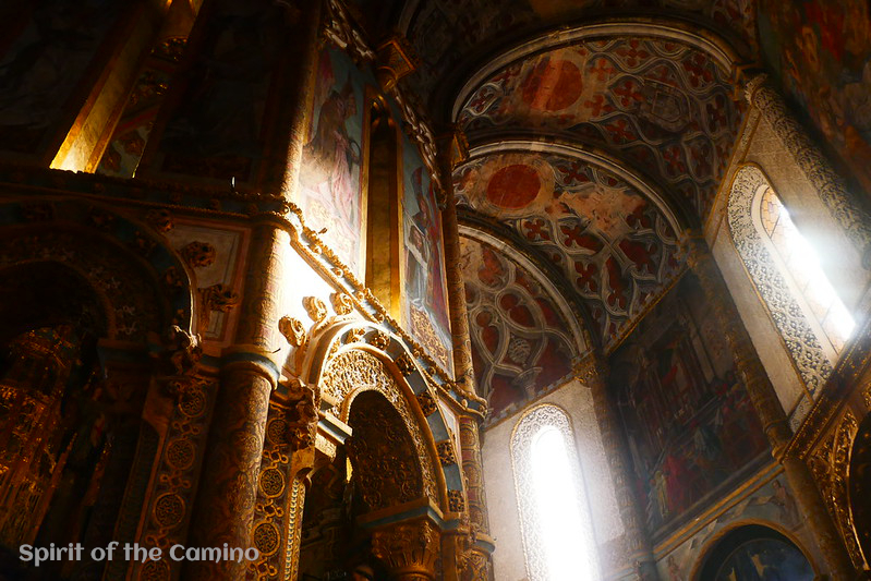 The round church of the Convento do Cristo in Tomar is one of the most stunning historic sights of the Portuguese Way.