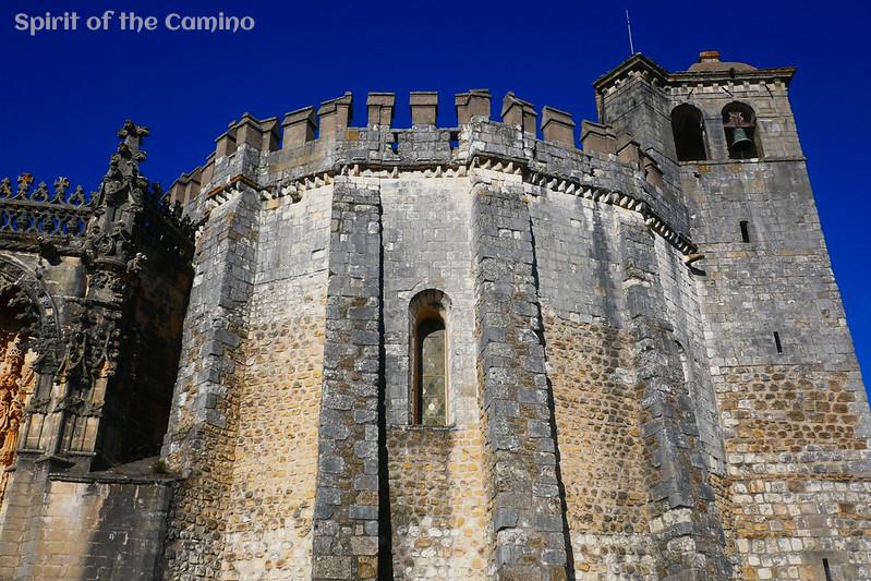The Convento do Cristo in Tomar.