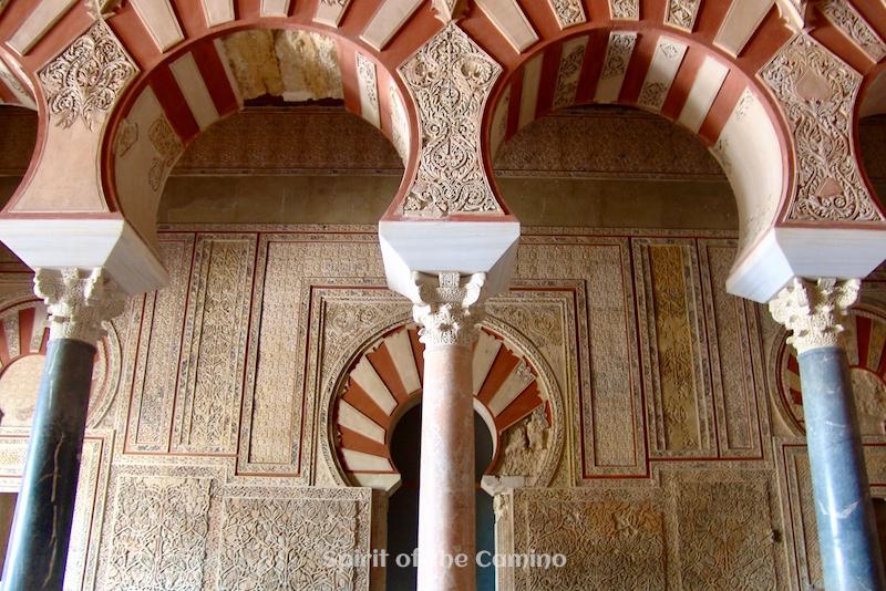 The reception hall of Abd ar-Rahman III at Medina Azahara.