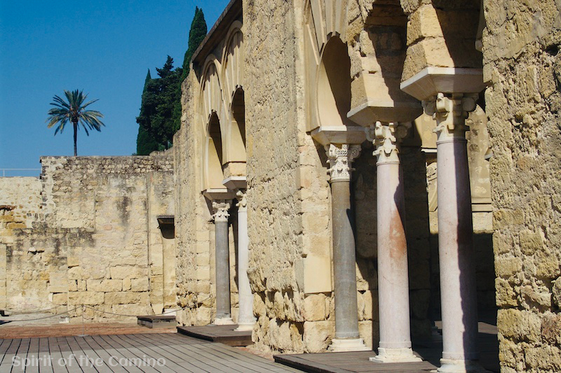 The ruins of Medina Azahara form one of the best Muslim sites on the Camino de Santiago.