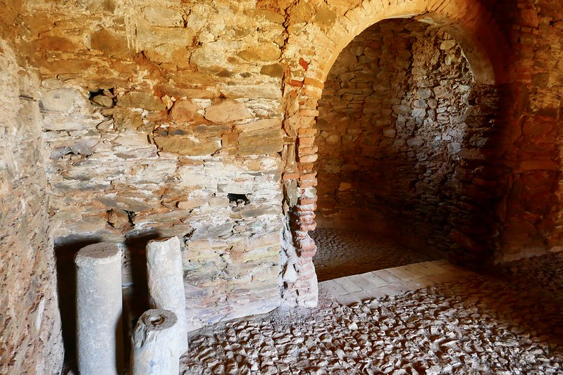 A late Roman family chapel in Mosteiro, a tiny village on the Caminho Nascente.