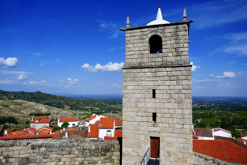 The 13th-century castle of Castelo Novo, one of the 'historical villages' of the Beiras.