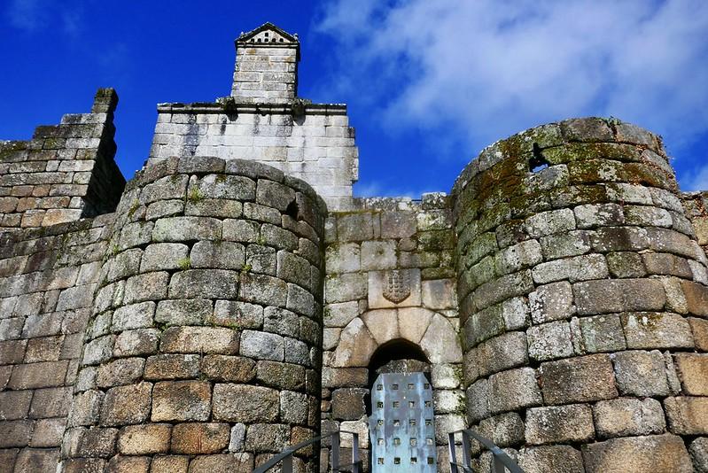 The castle in Ribadavia - Galicia, Spain.