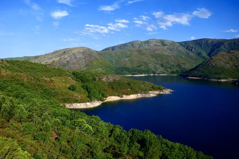 Beautiful scenery of the Peneda-Gerês National Park.